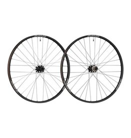"Spank Spank Oozy 350 Boost Wheelset: 27.5"" 15 x 110mm Front 12 x 148mm Rear XD Freehub, Black"