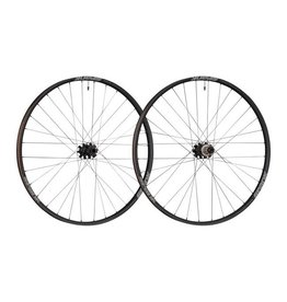 "Spank Spank Oozy 350 Boost Wheelset: 29"" 15 x 110mm Front 12 x 148mm Rear Shimano 10/11 MTB Freehub, Black"