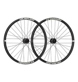 "Spank Spank Spoon 32 Wheelset 26"" 20x110mm Front, 12x142mm Rear Black"