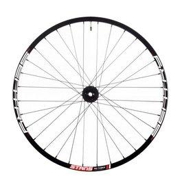 "Stan's No Tubes Stan's No Tubes Sentry MK3 Rear Wheel: 27.5"" Alloy, 12 x 148mm Boost, 6- Bolt Disc, Shimano Freehub, Black"