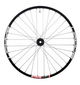 "Stan's No Tubes Stan's No Tubes Baron MK3 Front Wheel: 27.5"" Alloy, 15 x 110mm Boost, 6- Bolt Disc, Black"