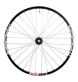 "Stan's No Tubes Stan's No Tubes Major MK3 Front Wheel: 27.5"" Alloy, 15 x 110mm Boost, 6- Bolt Disc, Black"