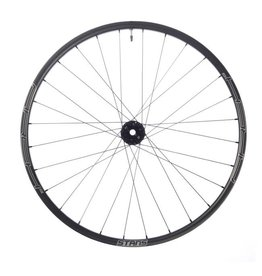"Stan's No Tubes Stan's No Tubes Arch CB7 Rear Wheel: 27.5"" Carbon, 12 x 142mm, 6-Bolt Disc, Shimano Freehub, Black"