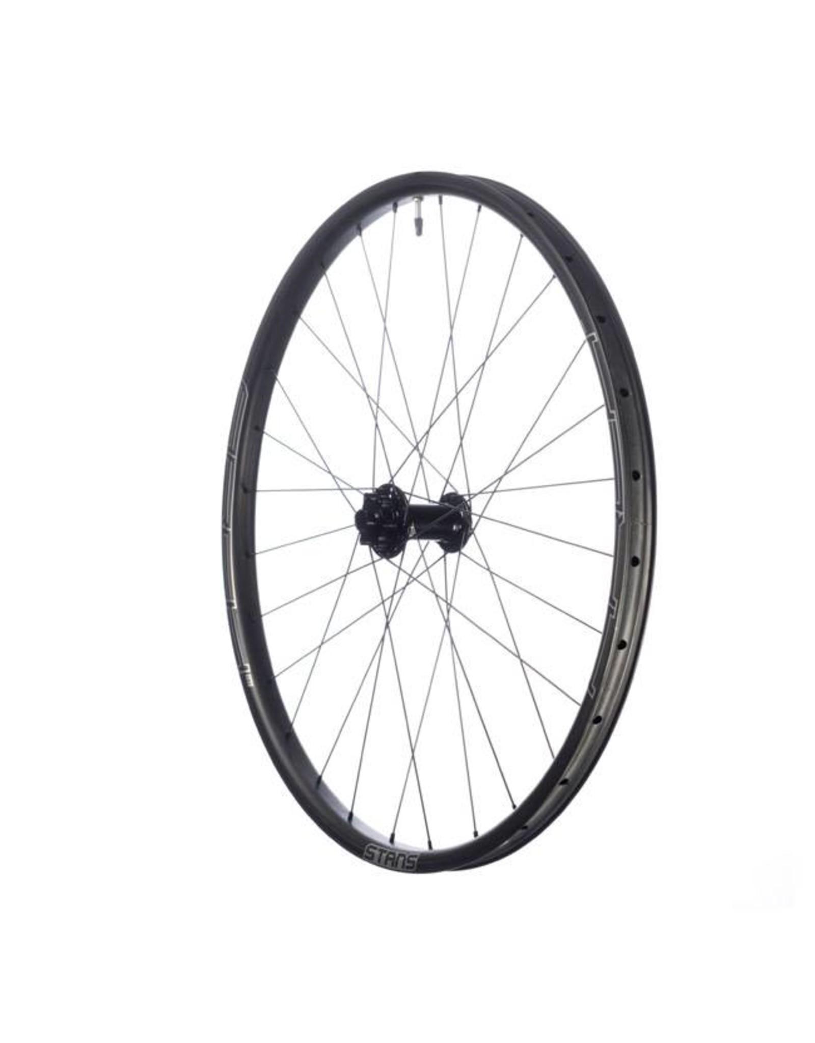 "Stan's No Tubes Stan's No Tubes Arch CB7 Rear Wheel: 27.5"" Carbon, 12 x 148mm Boost, 6- Bolt Disc, Shimano Freehub, Black"