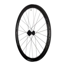 Stan's No Tubes Stan's No Tubes Avion Team Carbon Wheelset: 700c Alloy, 15 x 100mm Front, 12 x 142mm Rear, 6-Bolt Disc, Shimano Freehub, Black