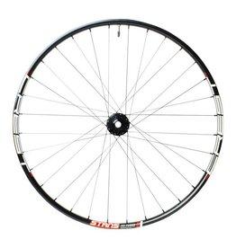 "Stan's No Tubes Stan's No Tubes Crest MK3 Front Wheel: 27.5"" Alloy, 15 x 100mm, 6-Bolt Disc, Black"