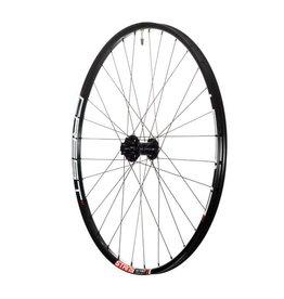 "Stan's No Tubes Stan's No Tubes Crest MK3 Rear Wheel: 27.5"" Alloy, 12 x 148mm Boost, 6- Bolt Disc, Shimano Freehub, Black"