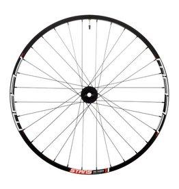 "Stan's No Tubes Stan's No Tubes Flow MK3 Front Wheel: 27.5"" Alloy, 15 x 100mm, 6-Bolt Disc, Black"