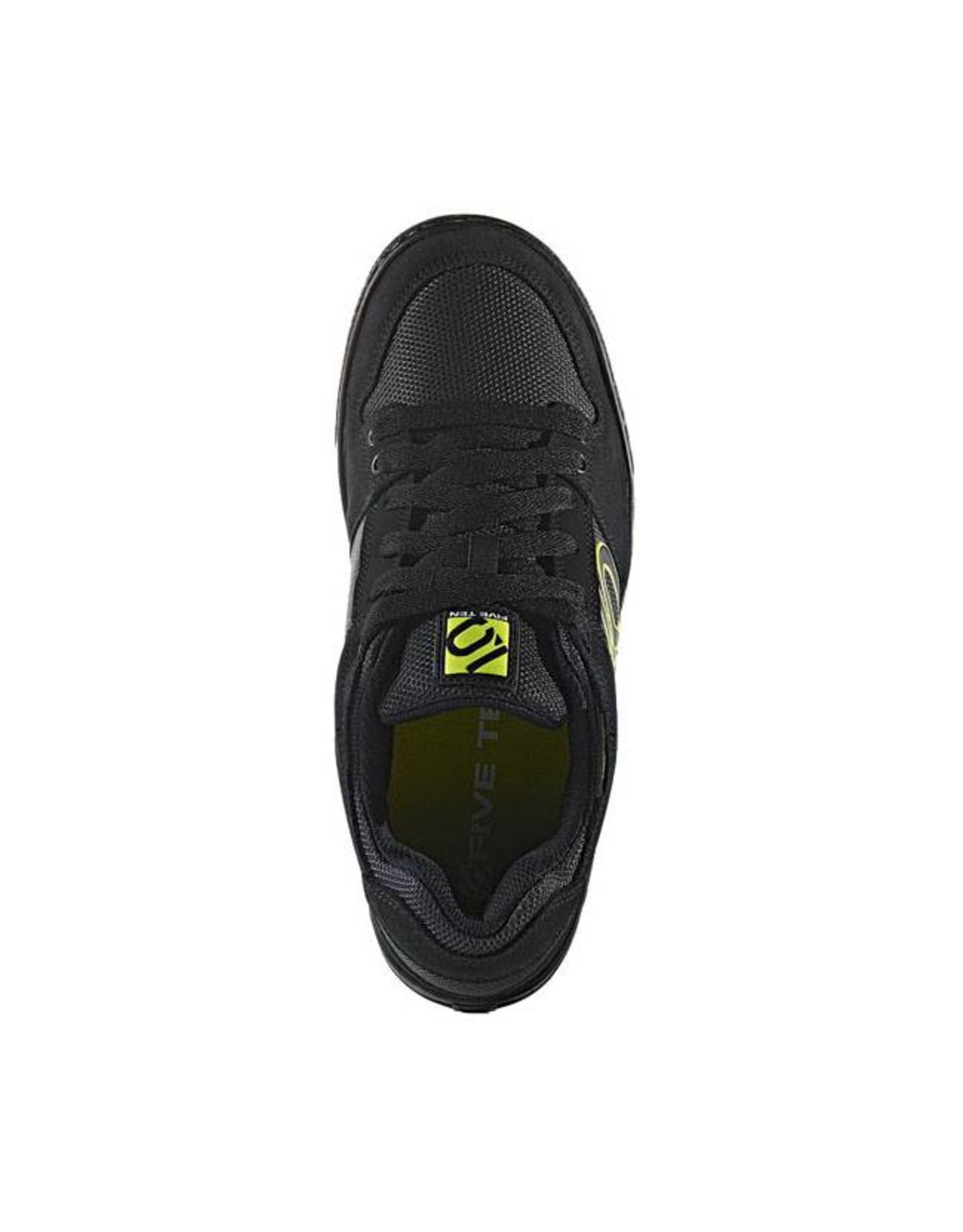 Five Ten Five Ten Freerider Men's Flat Pedal Shoe: Black Slime 10