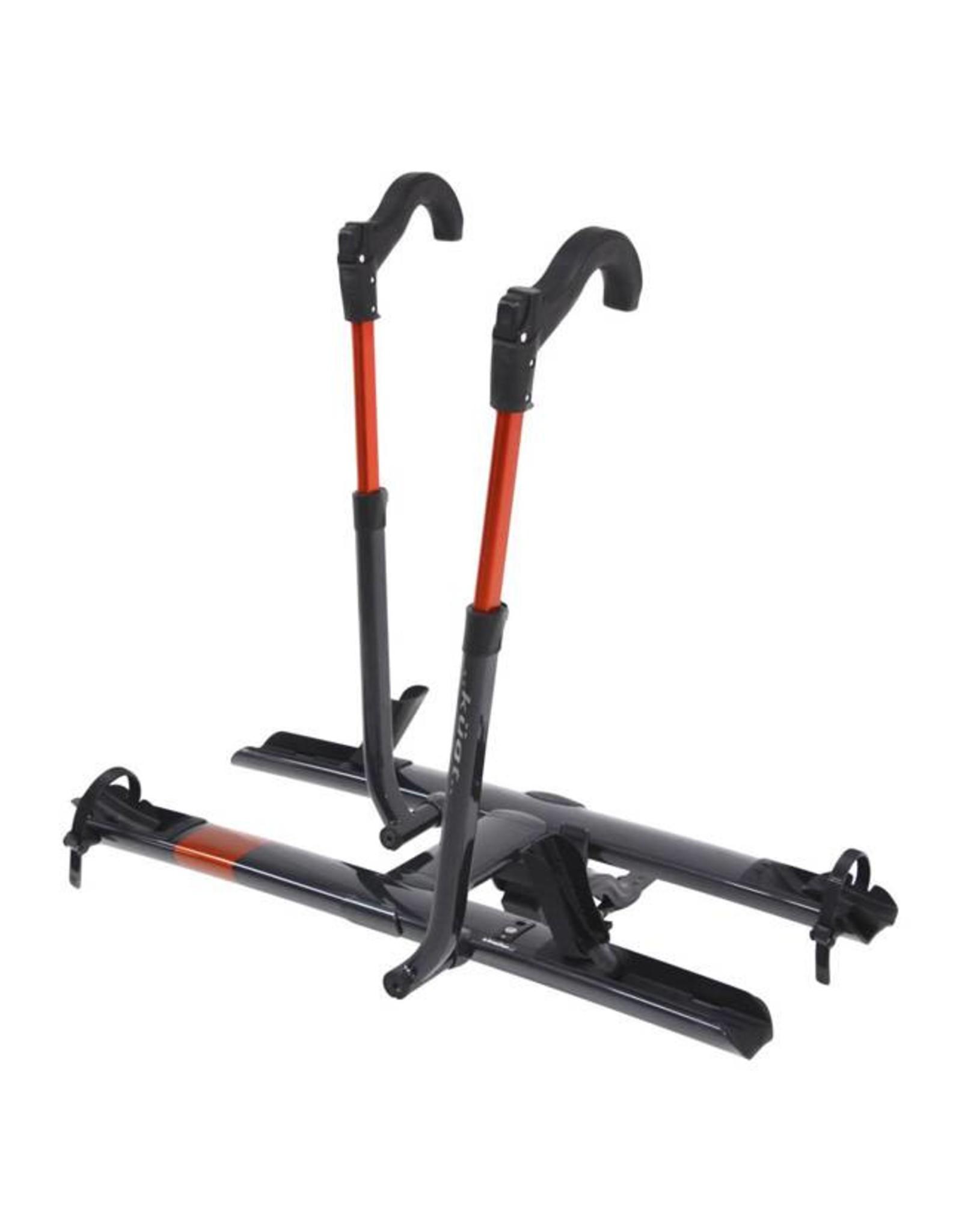 """Kuat Kuat Sherpa 2.0 Hitch Rack: 1.25"""" Receiver, 2 Bike Trays, Gray Metallic"""