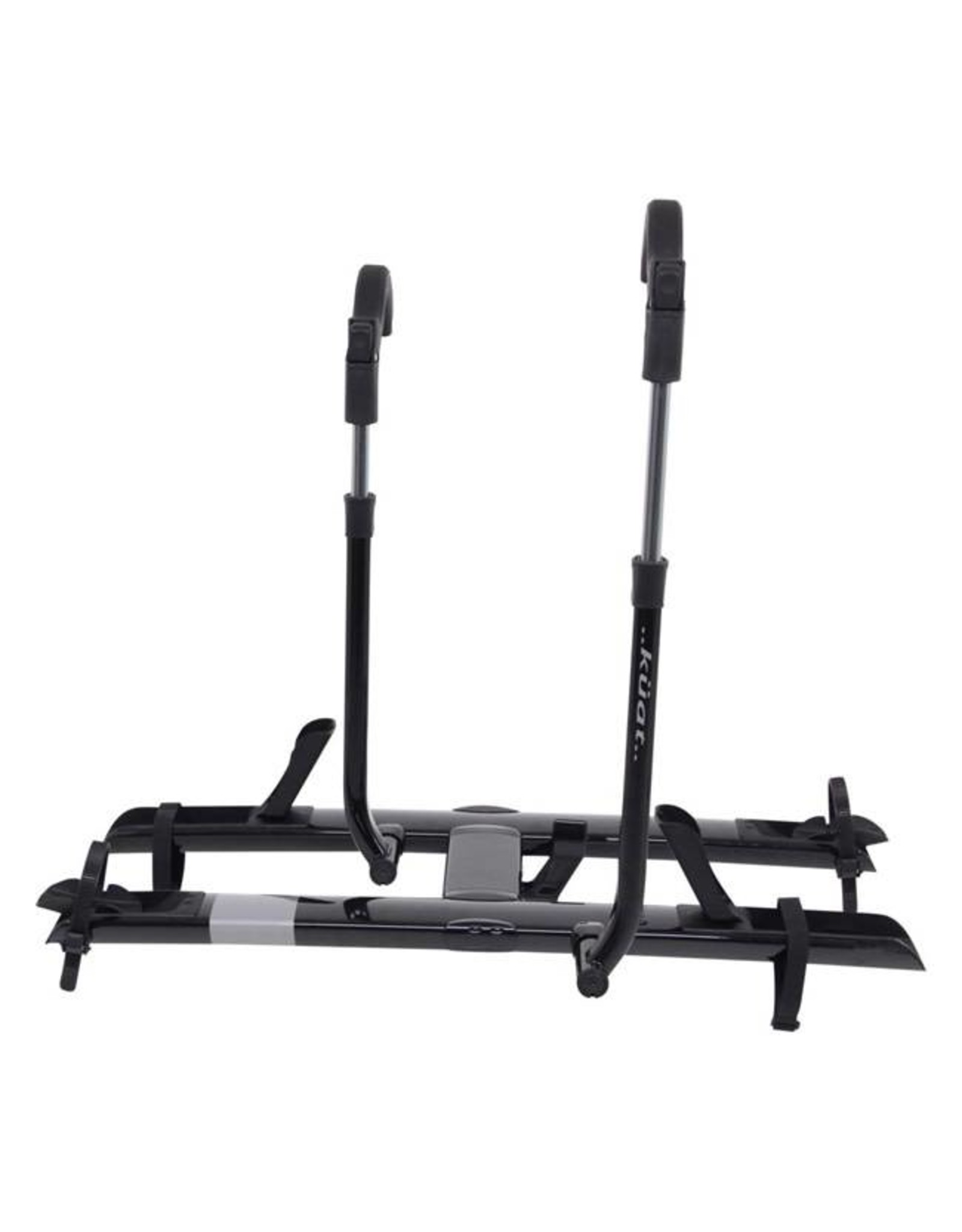 "Kuat Kuat Sherpa 2.0 Hitch Rack: 2"" Receiver, 2 Bike Trays, Black Metallic"