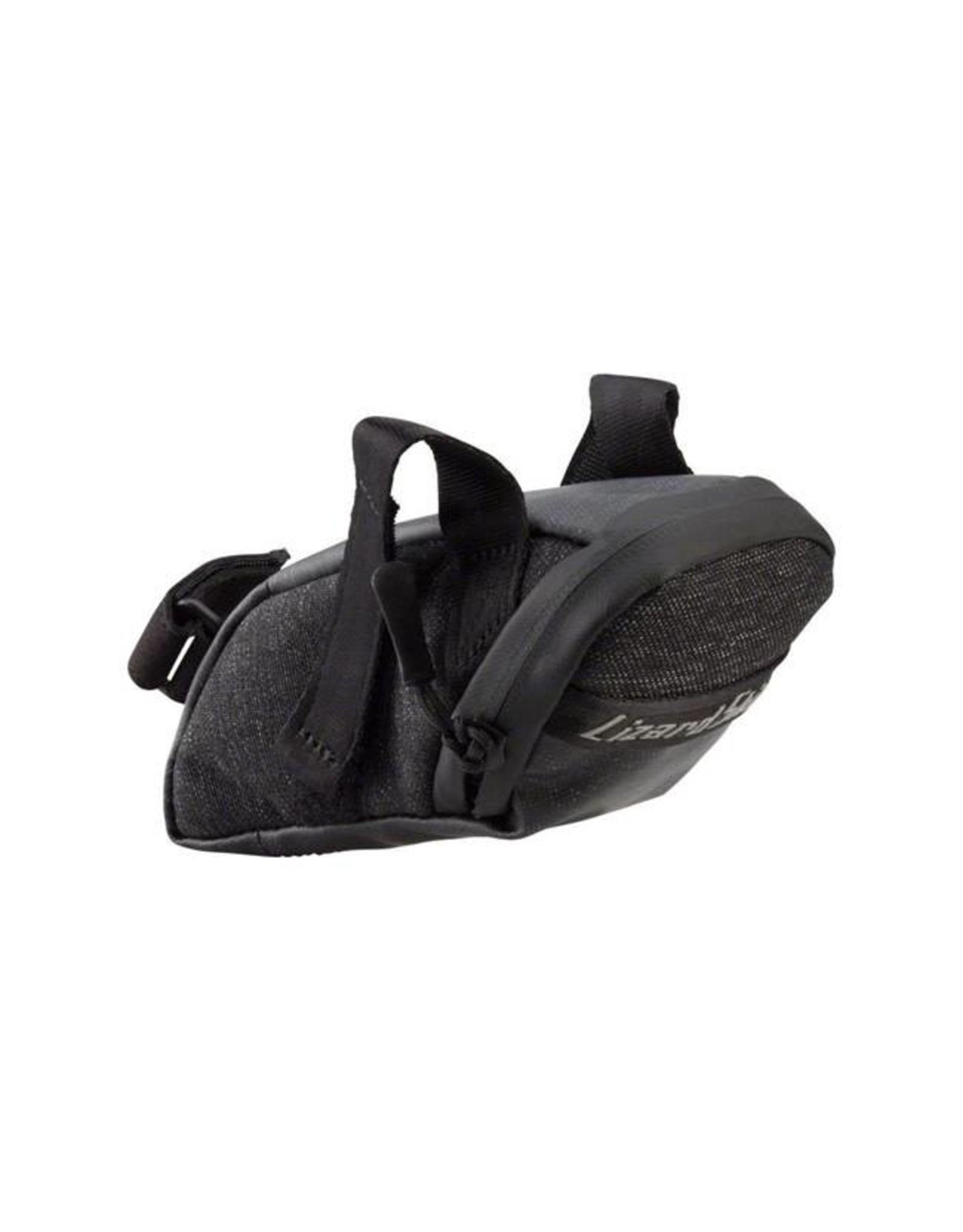 Lizard Skins Lizard Skins Micro Cache Seat Bag: Jet Black
