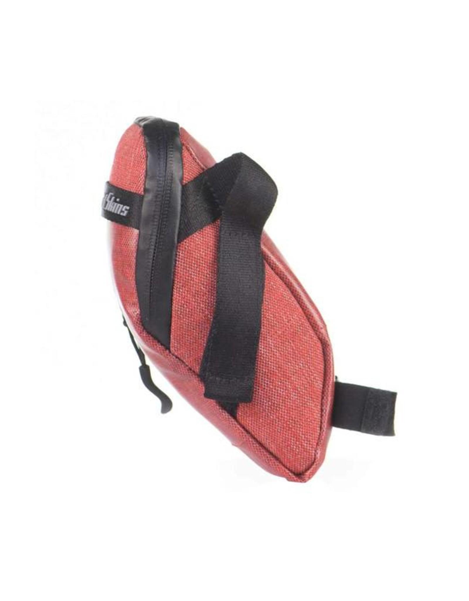 Lizard Skins Lizard Skins Micro Cache Seat Bag: Crimson