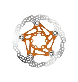 Hope Hope Floating Disc Rotor: 160mm Orange
