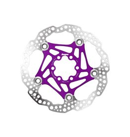 Hope Hope Floating Disc Rotor: 160mm Purple