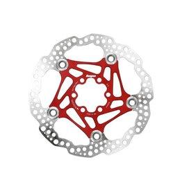 Hope Hope Floating Disc Rotor: 160mm Red