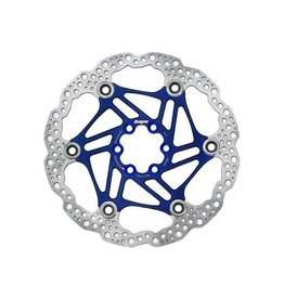 Hope Hope Floating Disc Rotor: 180mm Blue