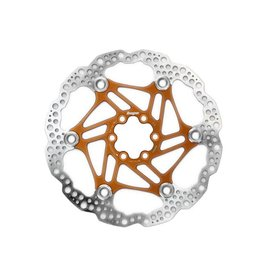 Hope Hope Floating Disc Rotor: 180mm Orange