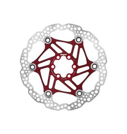 Hope Hope Floating Disc Rotor: 180mm Red