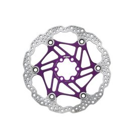 Hope Hope Floating Disc Rotor: 180mm Purple
