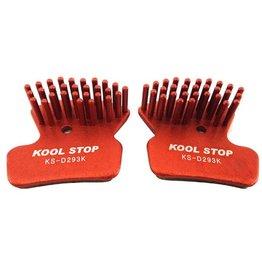 Kool-Stop Kool-Stop Aero-Kool Disc Brake Pad: Fits Avid XO Trail, SRAM Guide, Dual Piston Avid Elixir 7 and 9