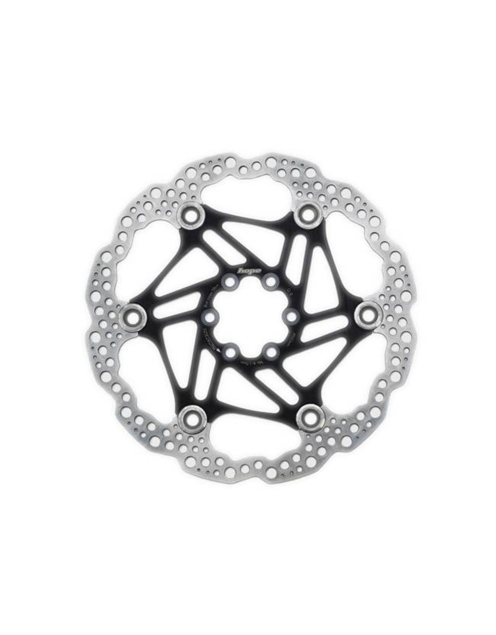 Hope Hope Floating Disc Rotor: 180mm Black
