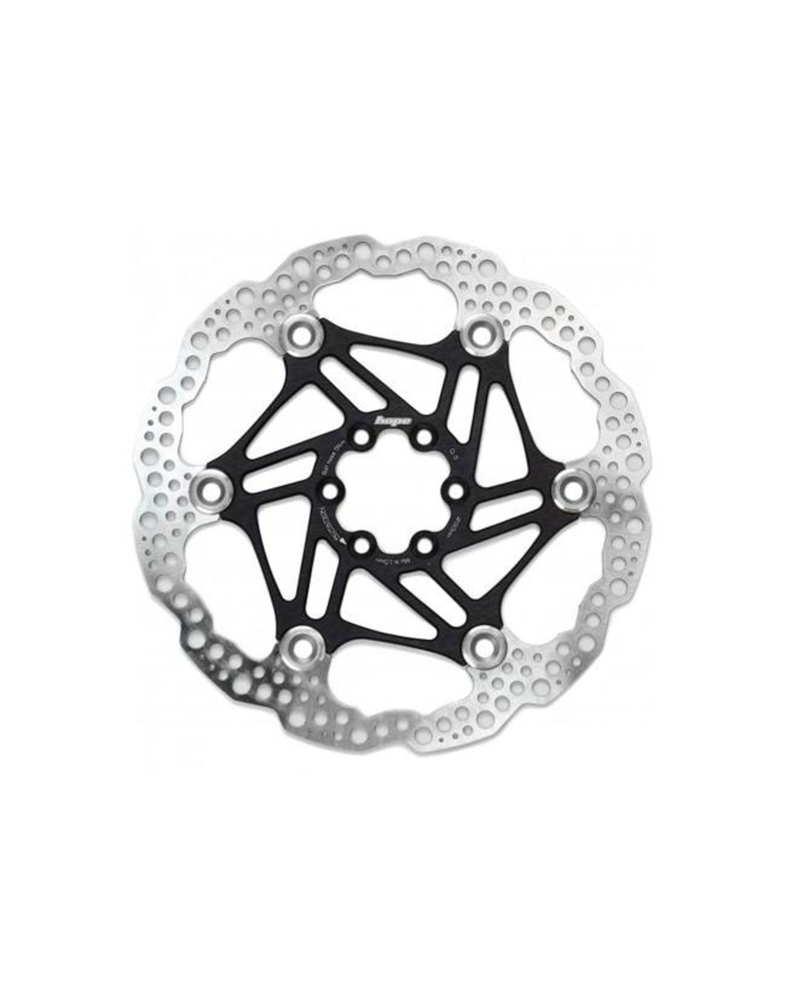 Hope Hope Floating Disc Rotor: 183mm Black