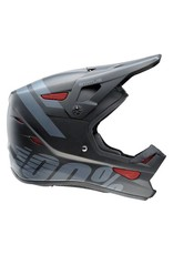 100% 100% Status Full-Face Youth Helmet: Black Meteor MD