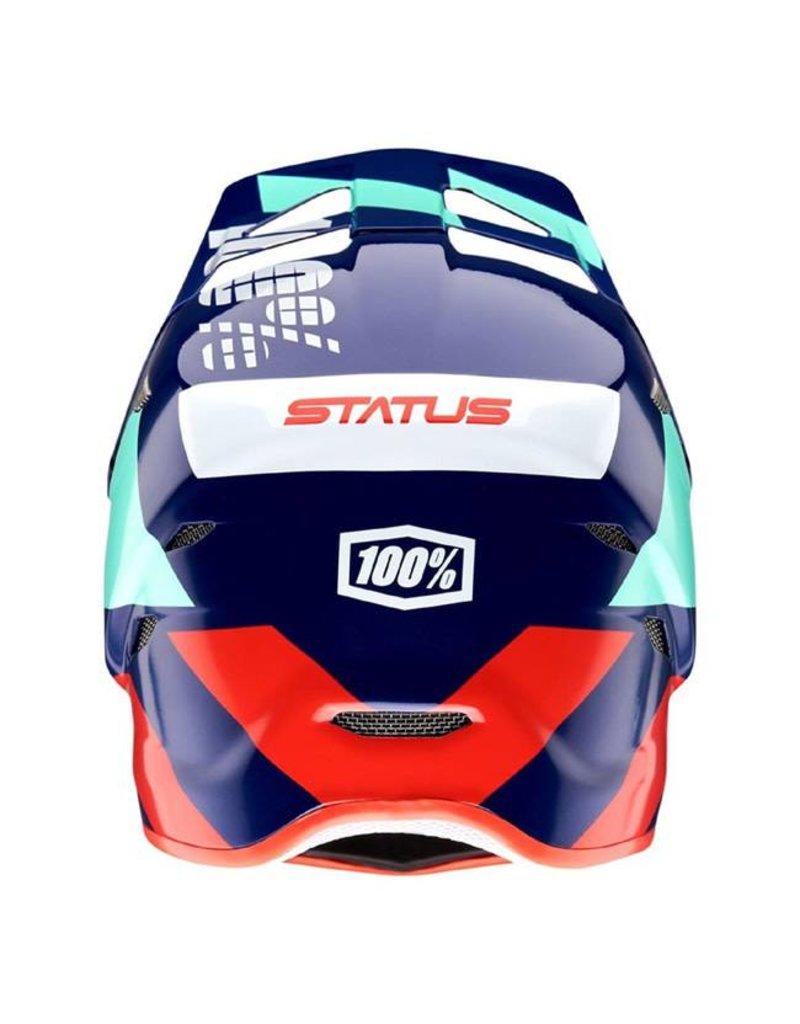 100% 100% Status Full-Face Helmet: Hakken SM