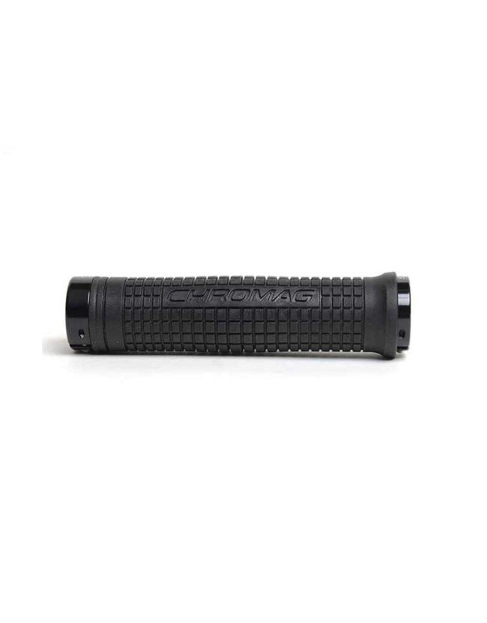 Chromag Squarewave XL Grips: Black