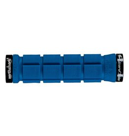 Lizard Skins Lizard Skins Northshore Lock On Grips Electric Blue