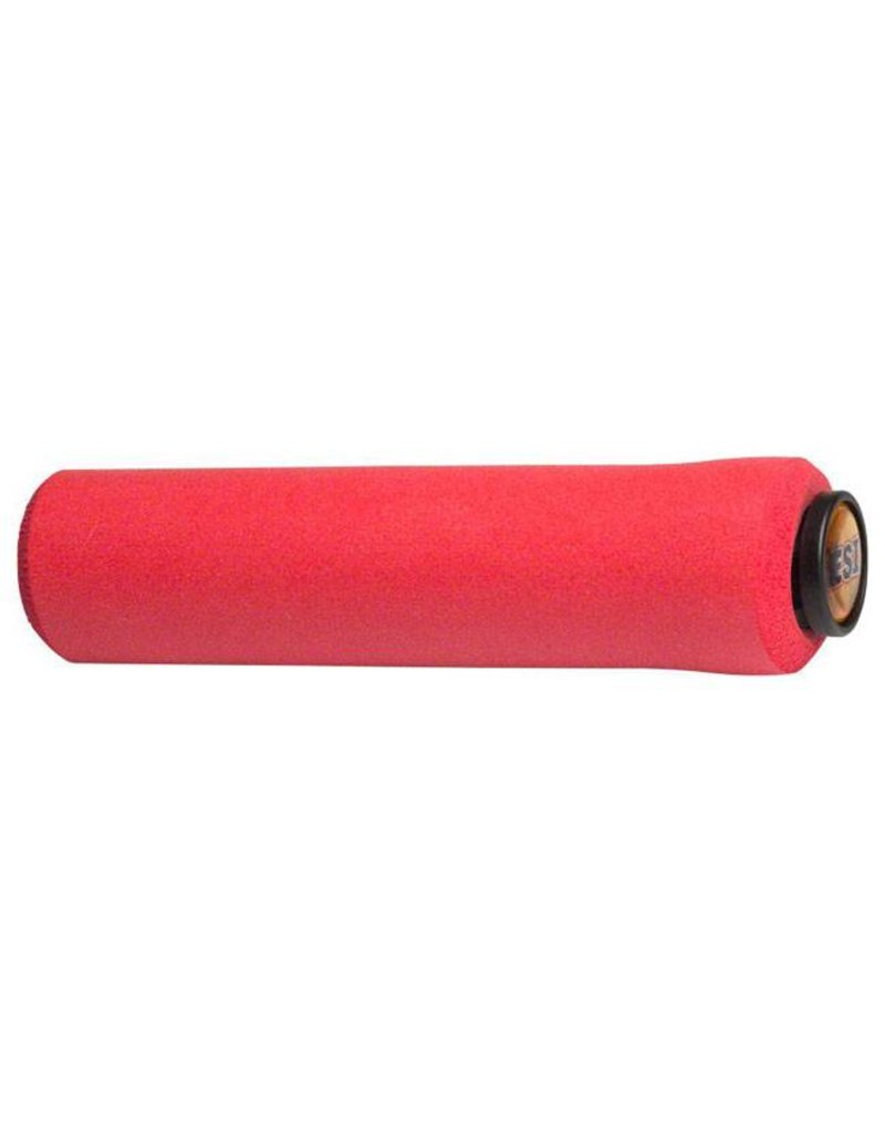 NEW ESI 34mm Extra Chunky Silicone Grips Red