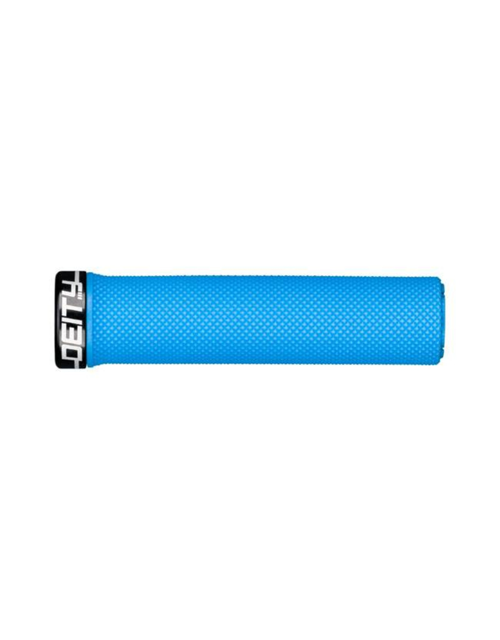 Deity Components Deity Waypoint Lock-on Grips: Blue with Black Clamp