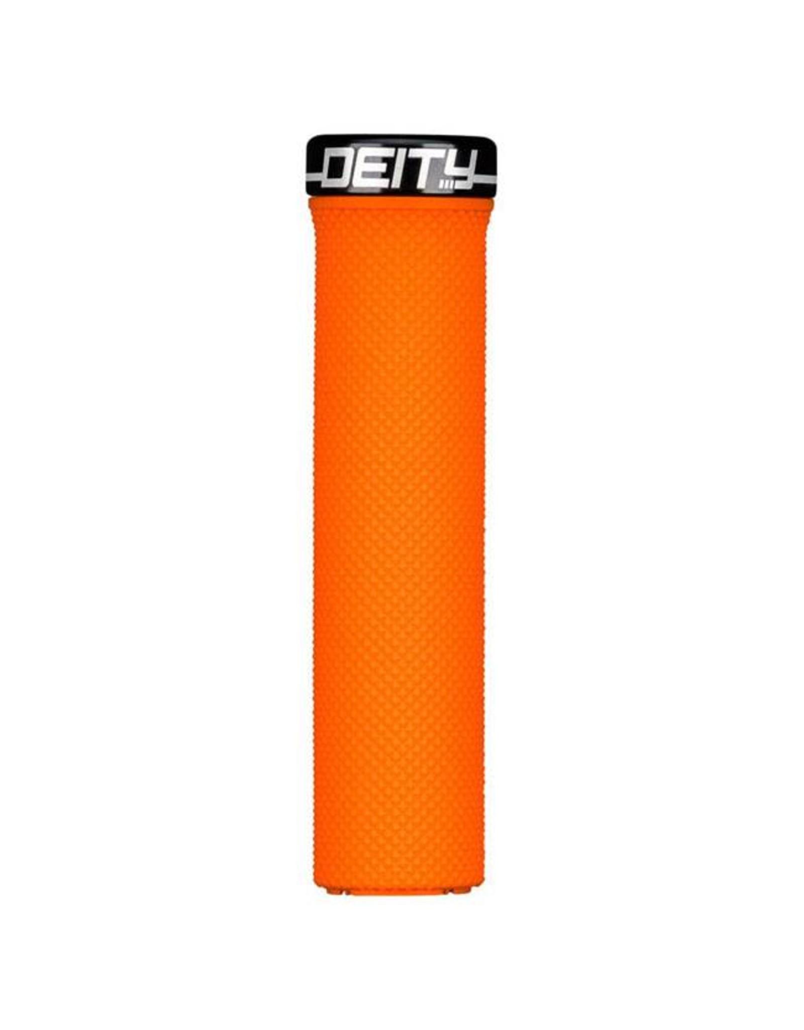 Deity Components Deity Waypoint Lock-on Grips: Orange with Black Clamp