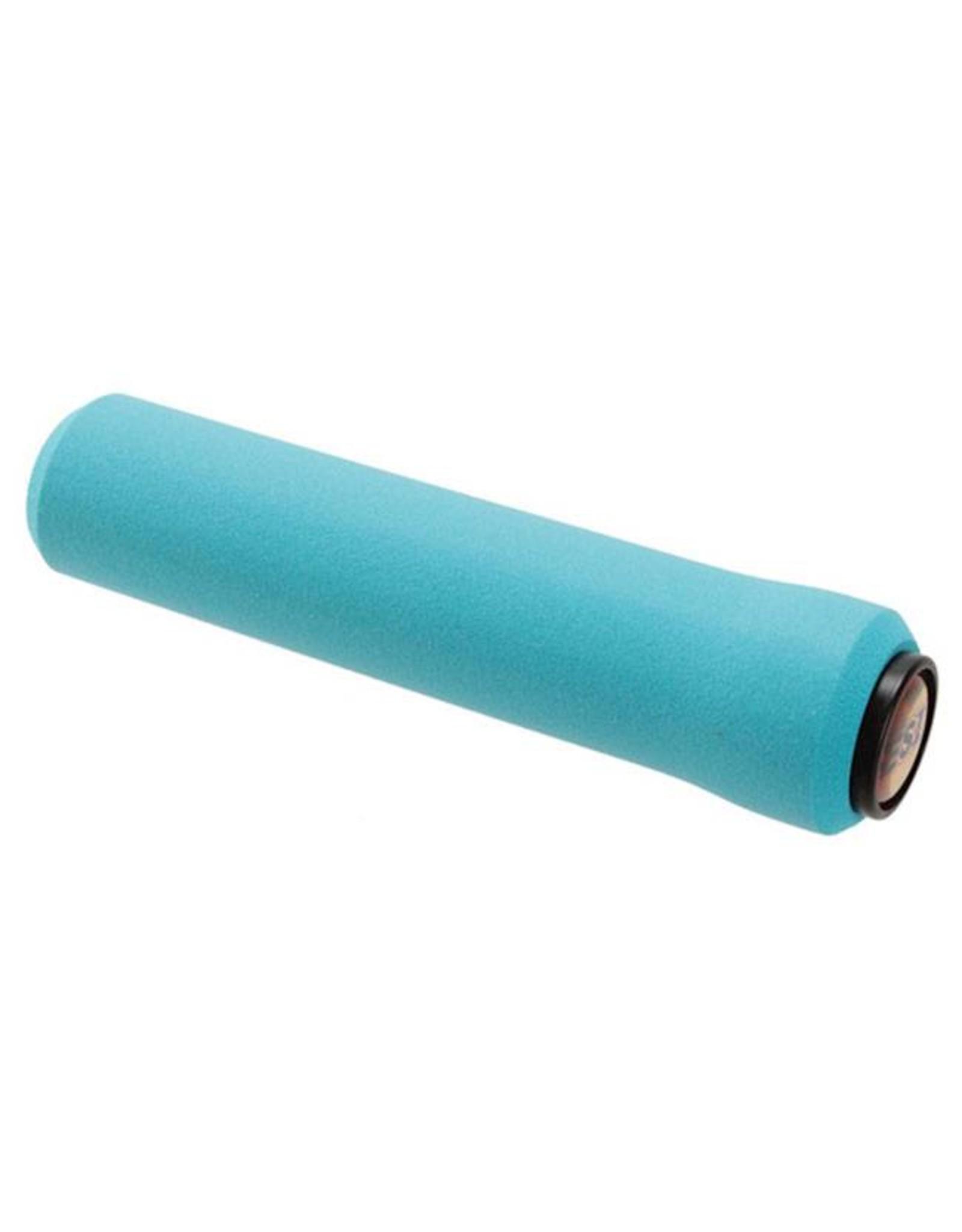 ESI ESI 32mm Chunky Silicone Grips: Aqua