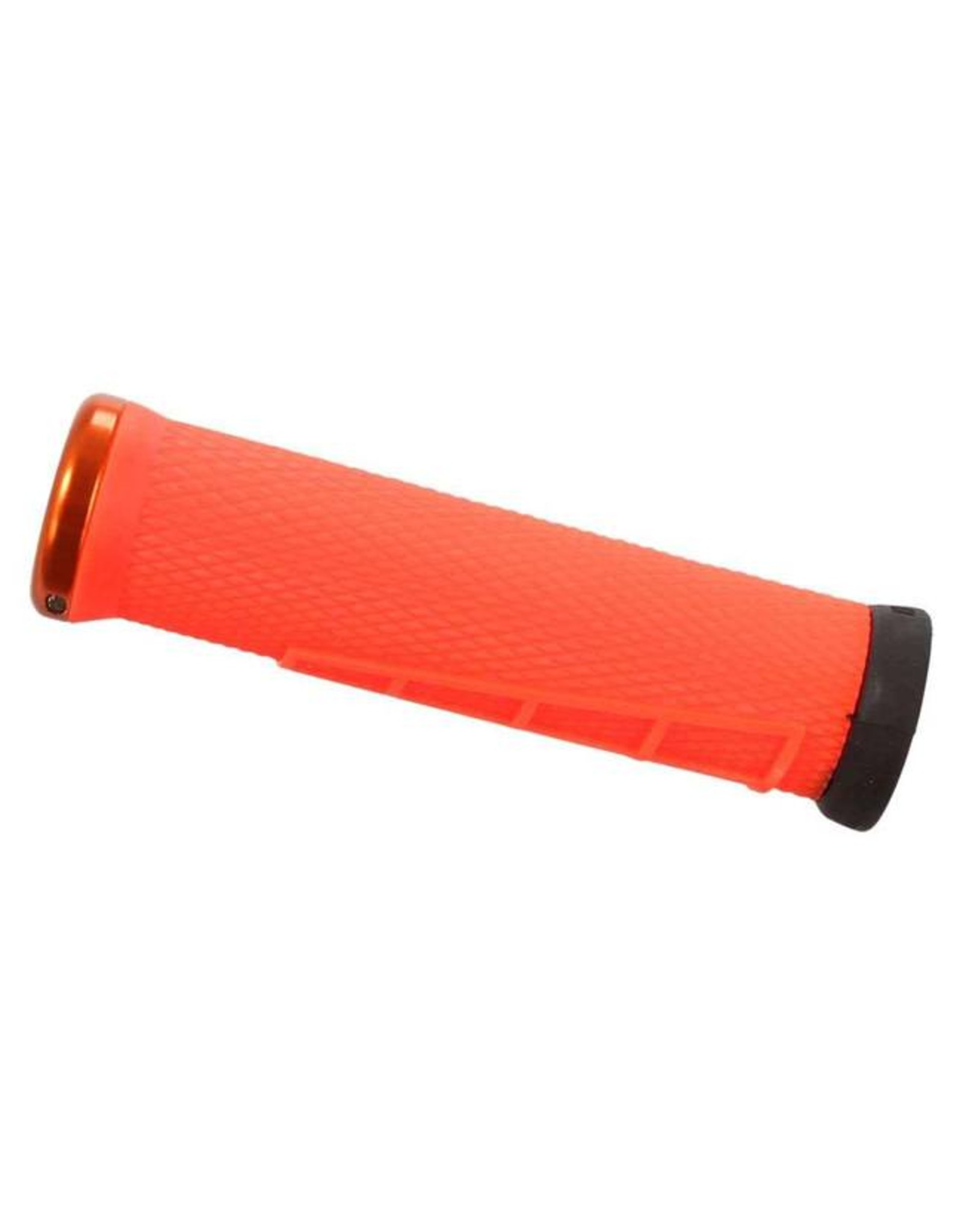 ODI ODI Elite Flow Lock-On Grips Orange with Orange Clamps