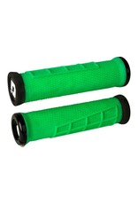 ODI ODI Elite Flow Lock-On Grips Retro Green with Black Clamps