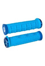 ODI ODI Elite Pro Lock-On Grips Light Blue with Blue Clamps