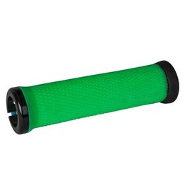 ODI ODI Elite Motion Lock-On Grips Retro Green with Black Clamps