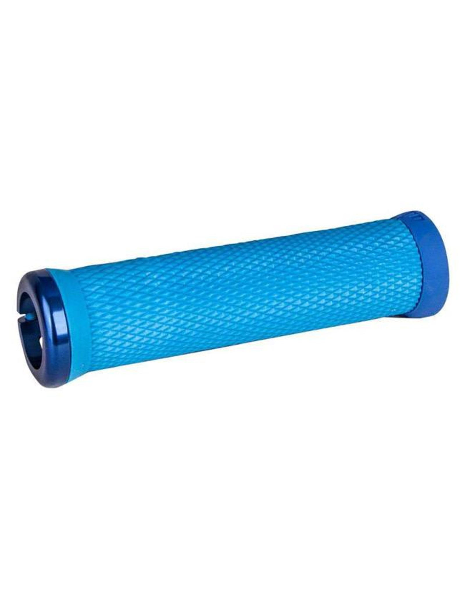 ODI ODI Elite Motion Lock-On Grips Light Blue with Blue Clamps