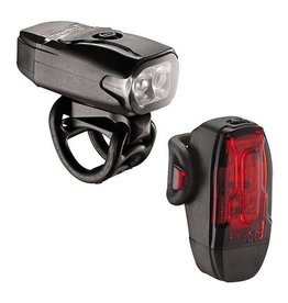 Lezyne Lezyne KTV Drive Headlight and Taillight: Black