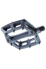 """DMR DMR V6 Pedals, 9/16"""" Plastic Platform Black"""