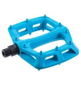 """DMR DMR V6 Pedals, 9/16"""" Plastic Platform Blue"""