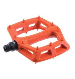 """DMR DMR V6 Pedals, 9/16"""" Plastic Platform Orange"""