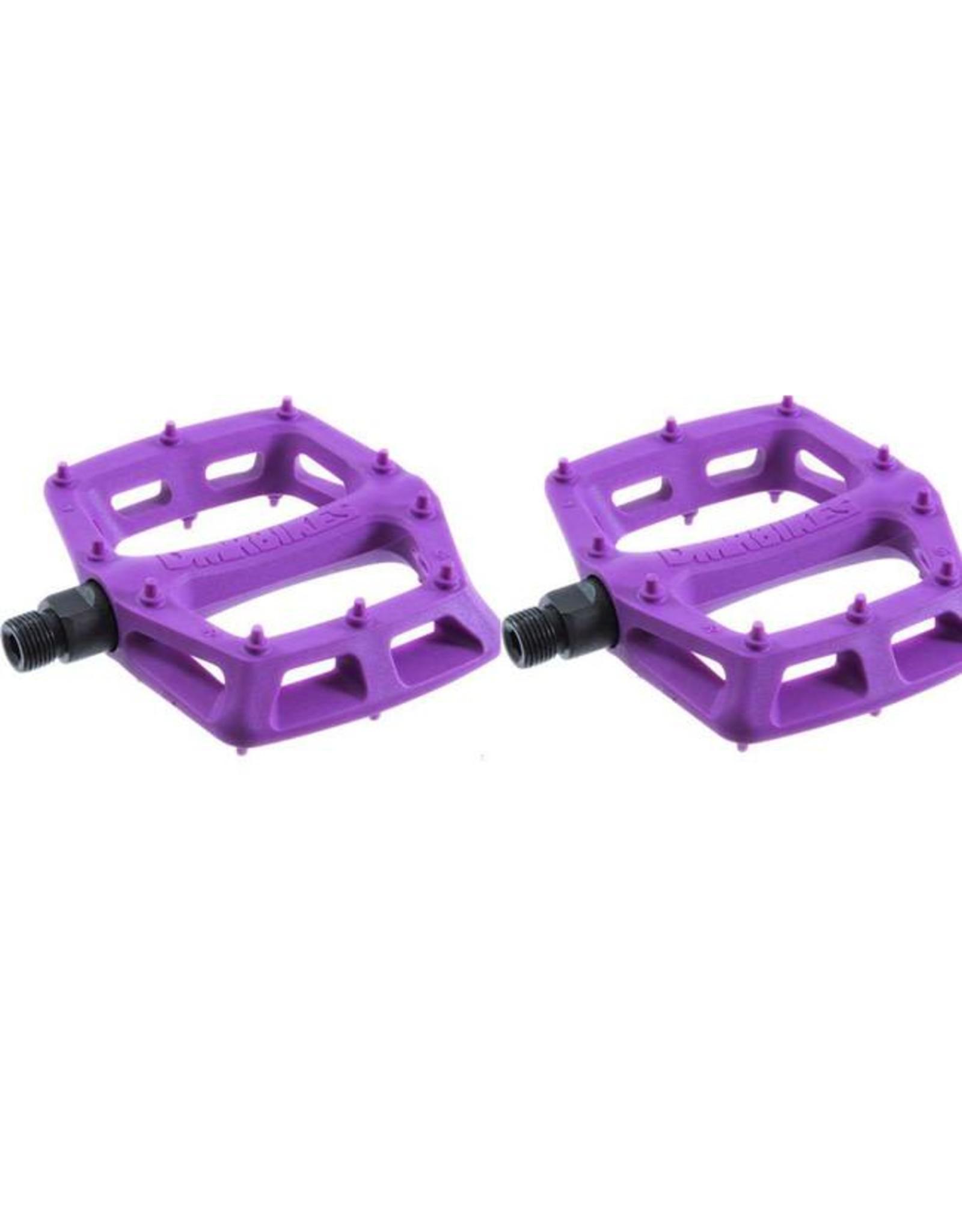 """DMR DMR V6 Pedals, 9/16"""" Plastic Platform Purple"""