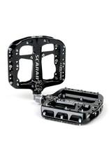 "Chromag Scarab Platform Pedals: 9/16"", Black"