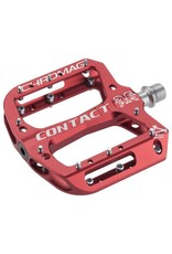 """Chromag Contact Pedals: 9/16"""",Red"""