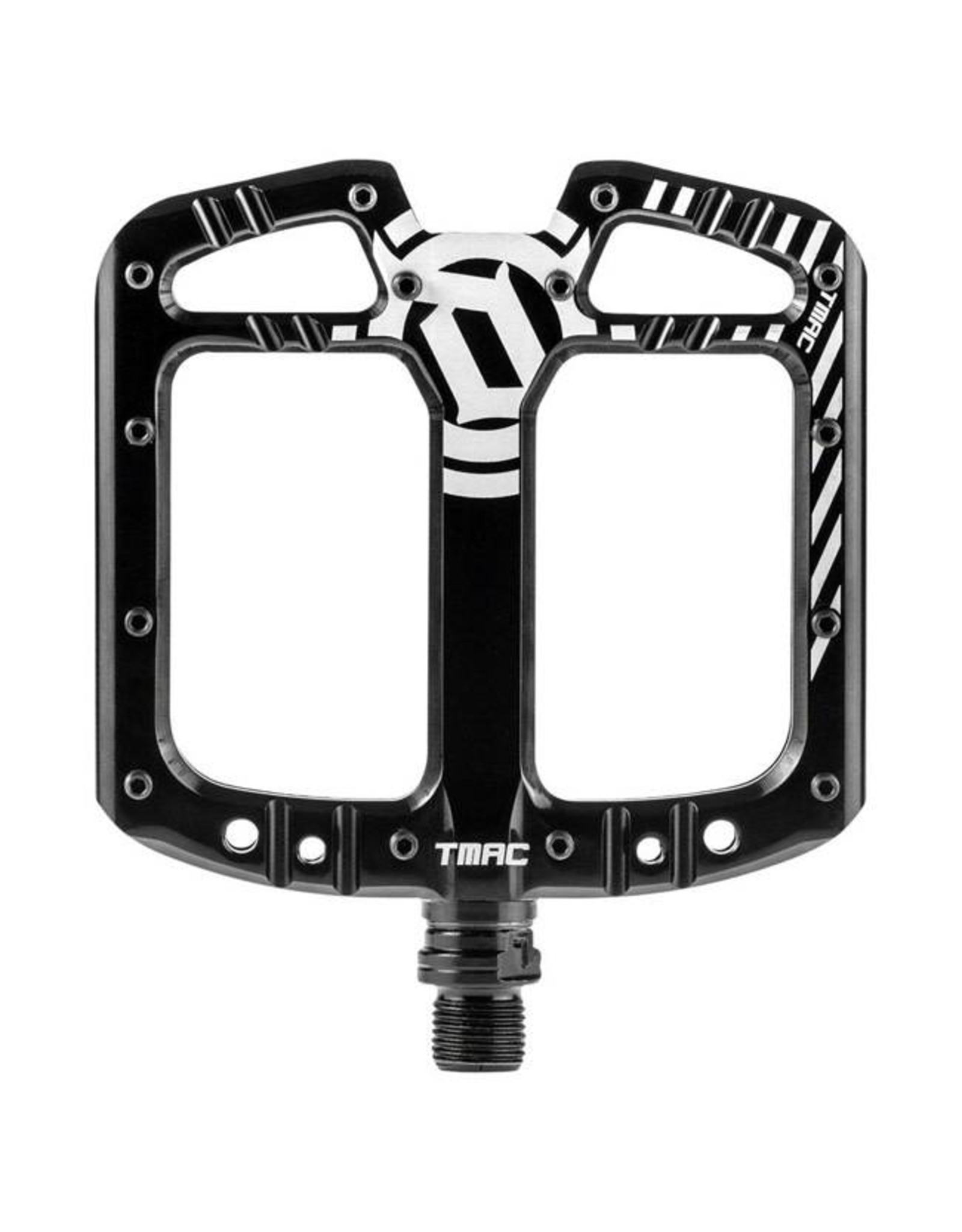 Deity Components Deity TMAC Pedals: Black/Laser Graphics