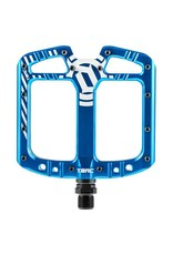 Deity Components Deity TMAC Pedals: Blue/Laser Graphics