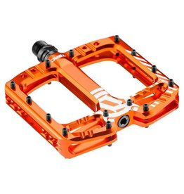 Deity Components Deity TMAC Pedals: Orange/Laser Graphics